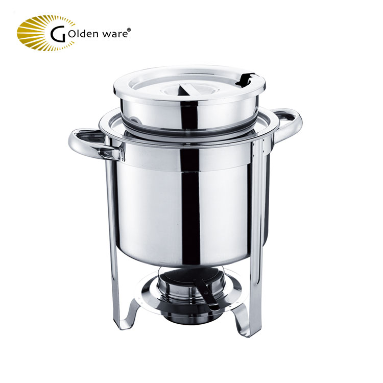 Golden Ware GW-8304BM 4L 2018 Most Popular Creative Latest chafing dish in hotel kitchen