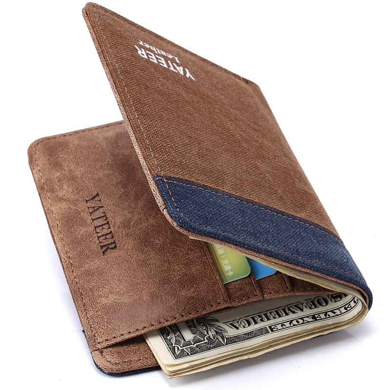 Men's Small Leather Wallet | Mount