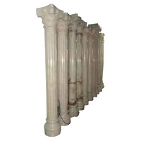 Wholesale Cheap Stone Square Round Column Marble Pedestal