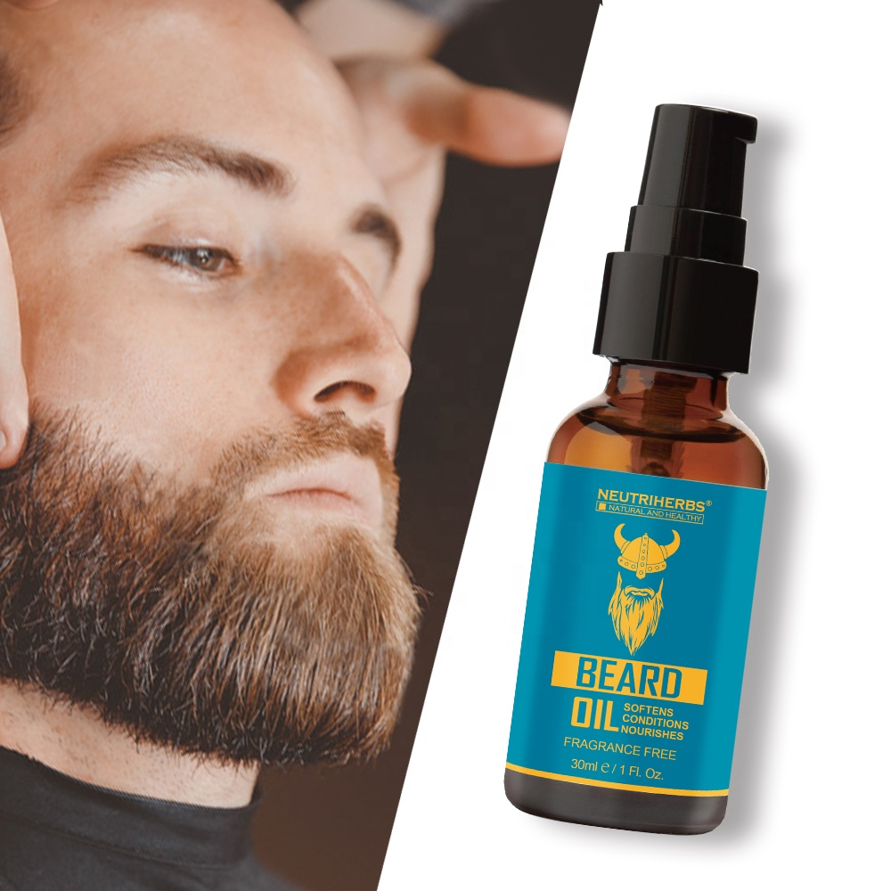 ขายร้อน & Treatment Softener น้ำมัน Sandalwood Beard Custom