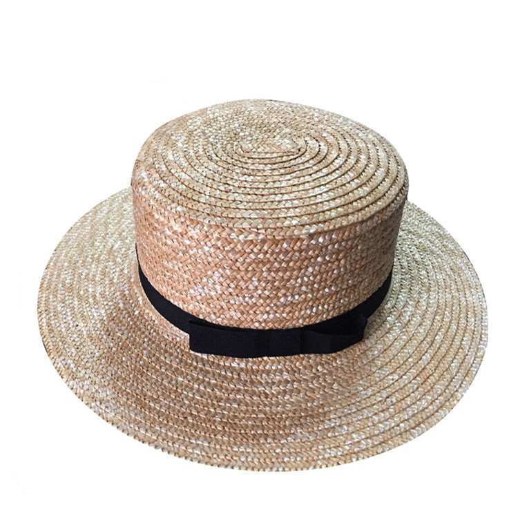Promotional price floppy fedora custom beach sun wholesale women straw hat  for summer 9626f36bc53