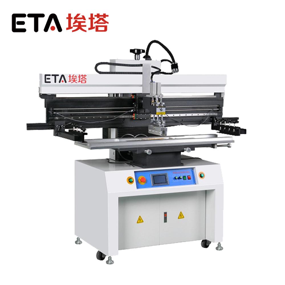ETA led making machine Semi-auto Stencil Printer P6 & PCB Printer SMT Stencil