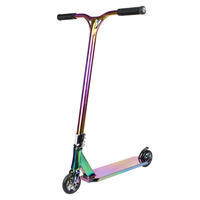 Vokul Pro Scooter Neo Chrome Stunt Scooter Freestyle Aluminum Bar Over Size 120mm Wheel