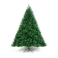 Artificial PVC christmas tree for Christmas decoration 1.5m 1.8m 2.1m 2.4m 3m 5m 10m