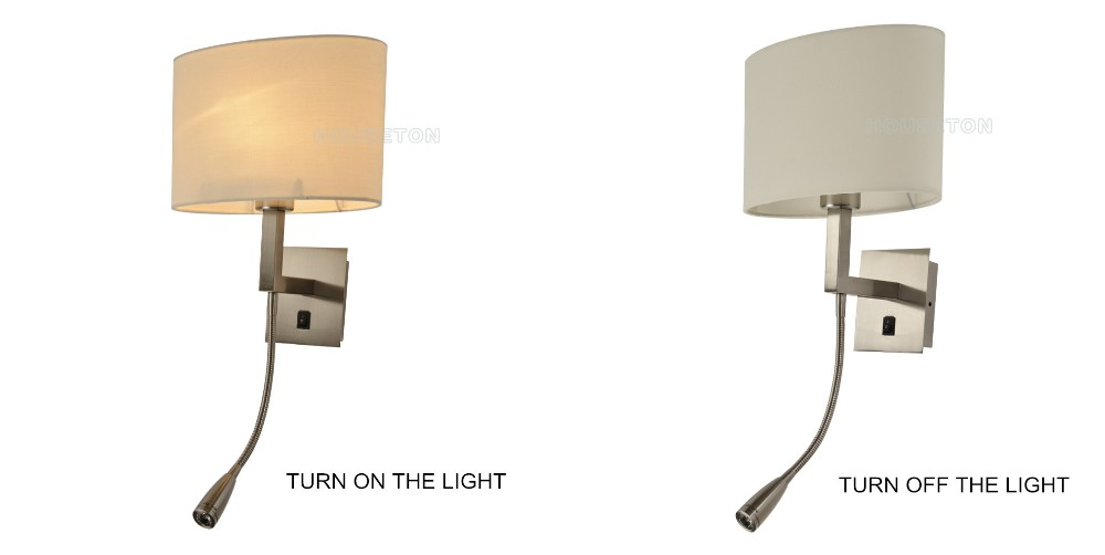 Led Bedside Hotel Project Bed Reading Light,Hotel Project Bed ...