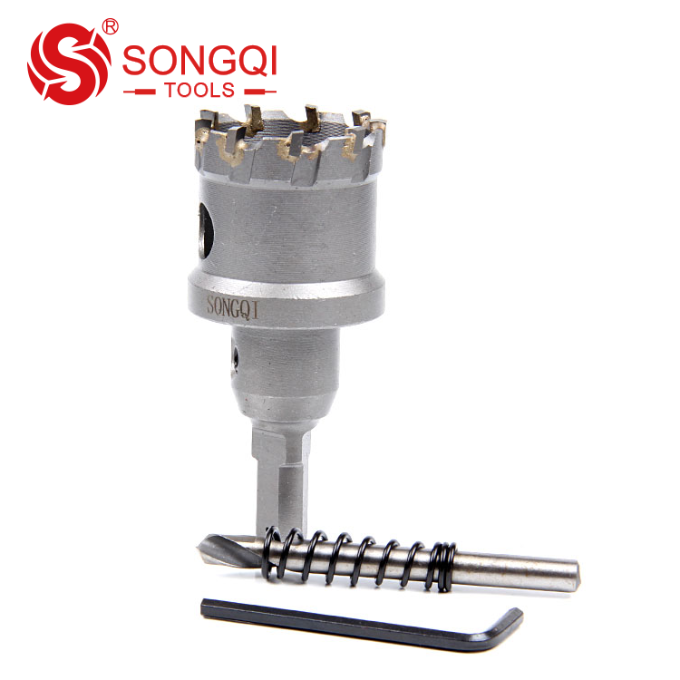 Tungsten Carbide TCT Hole Saw for Thick Stainless Steel Plate Channel Steel Angel Iron