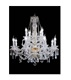 Modern blown glass oil lamp chandelier for sale