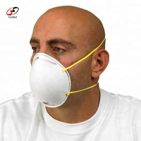 n95 half face breathing respirator fit test dust mask