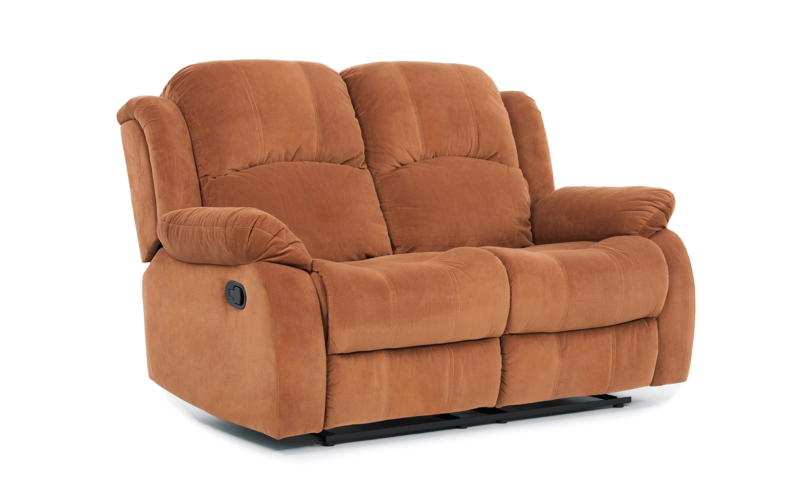 Classic and Traditional Brown Brush Microfiber Recliner Chair, Love Seat, Sofa Size - 1 Seater, 2 Seater, 3 Seater Set (2 Seater)