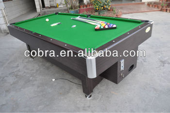 Ft Mdf Coin Operated Pool Tablebar Billiard Tablepool Game - United billiards pool table coin operated