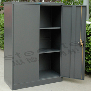 Made In China Model Fc A18 Lockable 2 Doors Metal Cupboard Used Cabinets