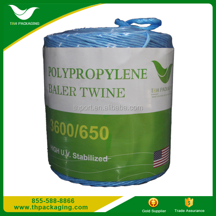 TH PACKAGING TH650 Baler Twine,White Poly,4000 FT Spool
