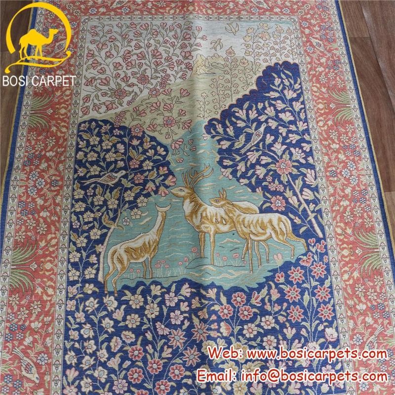 3x4 5ft Lavender Home Decoration Modern Rug Turkish Handmade Carpet And Rugs