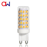 2019 new Dimmable high power high lumen 6 watt high lumen 500lm G9 led lamp with CE RoHS ETL from China