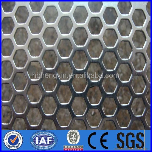 electro galvanized expanded metal wire mesh/perforated wire mesh