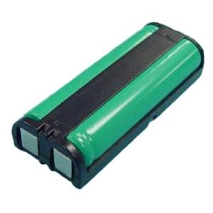 Panasonic KX-TGA670B Cordless Phone Battery 2.4 Volt, Ni-MH 830mAh - Replacement For PANASONIC HHR-P105 Cordless Phone Battery