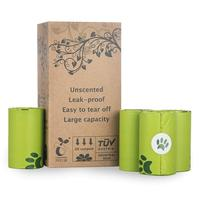 Customized Logo Compostable Pet waste Bag for cat