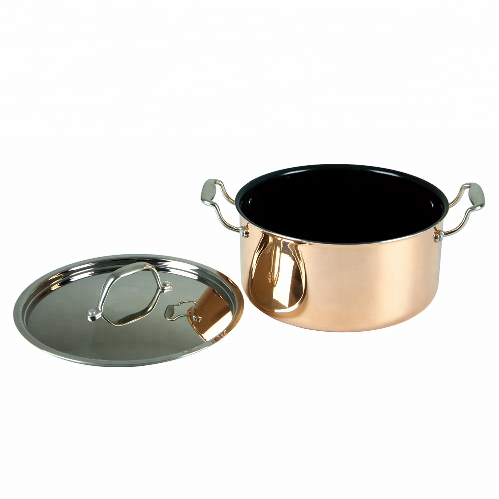 Size All Clad Copper Induction Pot