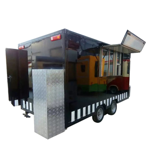 Hot Sale Mobile Catering Trailer mobile Food Truck mobile Restaurant Food Cart