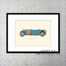 Home decoration prints items Yes Frame and Canvas Car creative canvas art prints