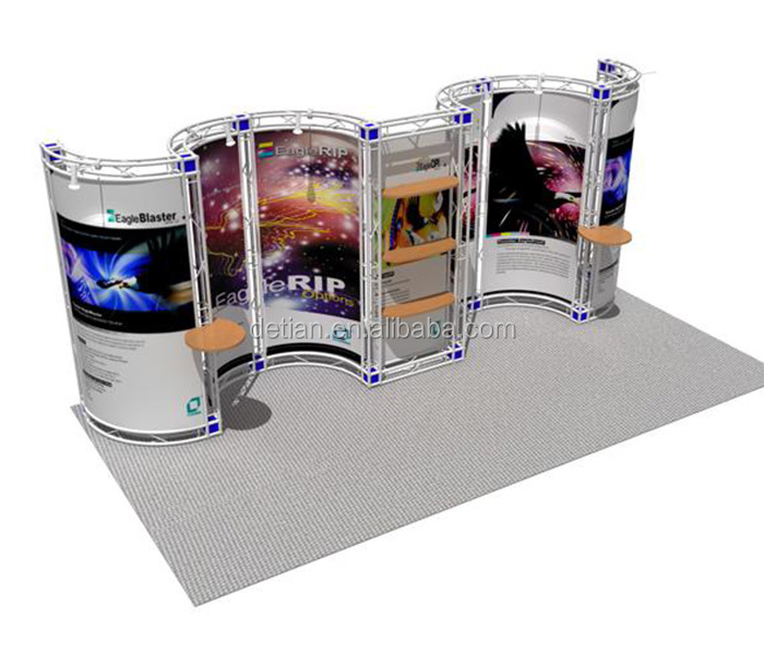 Simple Exhibition Stand Design : Simple truss exhibition stand design portable exhibition stand