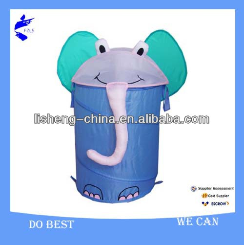 Elephant Collapsible POP UP LAUNDRY HAMPER