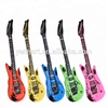 Party PVC inflatable guitar music instrument toys for kids