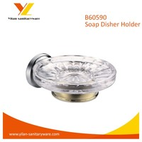 Glass Bathtub Soap Dish