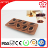 Cool Beans! High Quality Custom Silicone Coffee Bean Mold/ Coffee Bean Shape Silicone Ice Mold