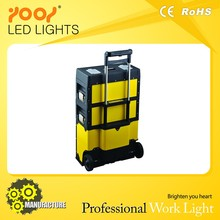 Trolley tool box plastic work boxes hand tools