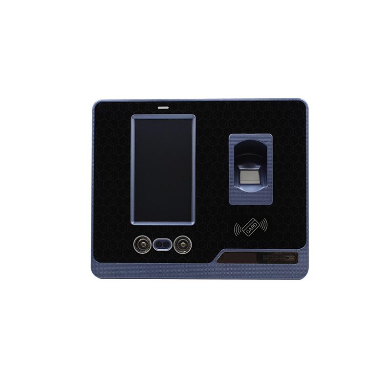 Facial recognition access control accept