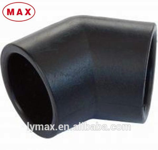 Pvc 120 Degree : Polyethylene  degree elbow pipe fitting