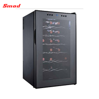 28 Bottles Thermoelectric Wine Cooler Fridge Wine Cabinet