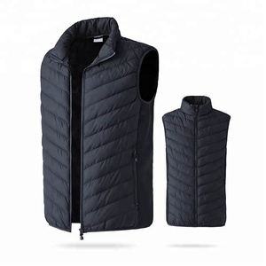 Heated thermal vest liner battery heated vest man bodywarmer padded vest