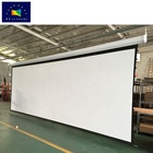 300 inch large motorized/electric projection/projector screen with remote control