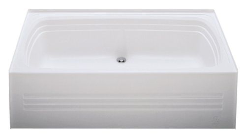 Kinro Composites ALM2754CD-SPK ABS Bath Tub with Apron