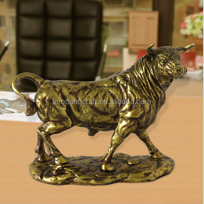 Home Decor Wholesalers Usa: Singapore Western Style Resin Animal Statues Bronze Deer