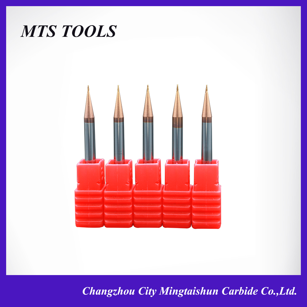 manufacturer sale tungsten steel carbide Micro diameter end mill 2 flute micro end mill 0.4mm-0.9mm
