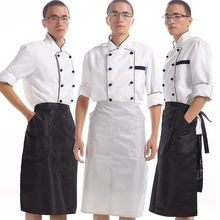 Waterproof work chef apron half-length PVC apron