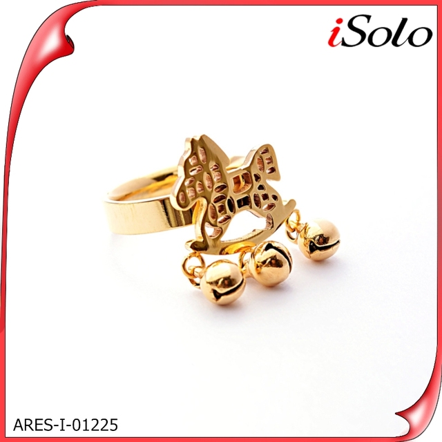 China Gold Rings Without Stones Design For Women Wholesale
