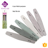 Moglad New Professional Nail File Set 6 Size Nail File With Cuticle Pusher