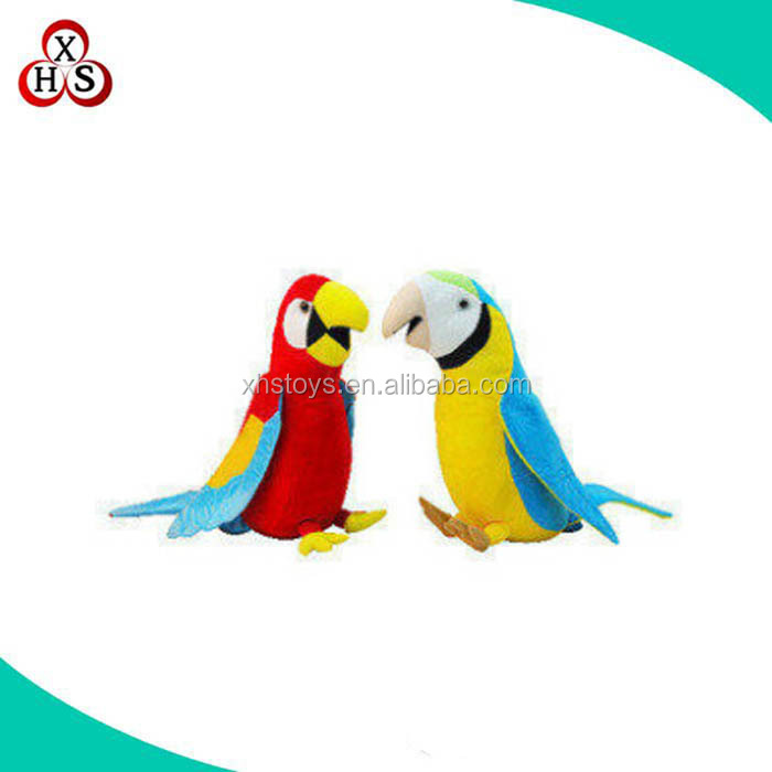 OEM Design Plush Parrot With Factory Price