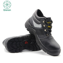 Brand Name Men Safety Shoes Genuine Leather Shoes for Industrial