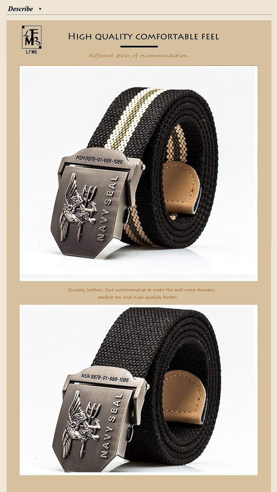 LFMB  cinturón táctico para hombre cinturón de lona hebilla correa táctica  rem jeans cinturones para hombres cinturón de lona táctico militar ... 7e703a53a38c