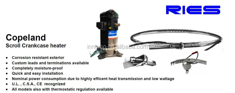 copeland compressor scroll crankcase heater