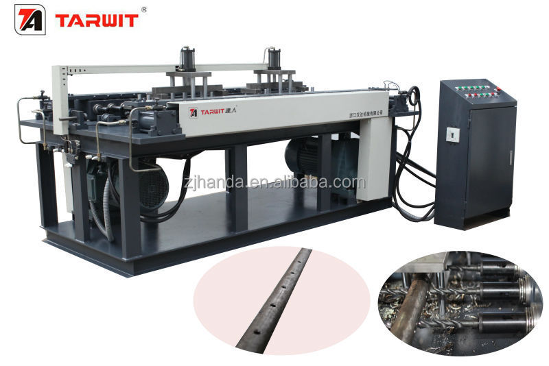 High efficient horizontal multi spindle drilling machine TARWIT ZB6423x38 for steel pipe