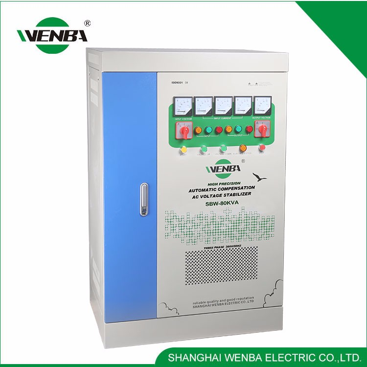 New Products High Efficiency China Supplier 380V Automatic Voltage Stabilizer