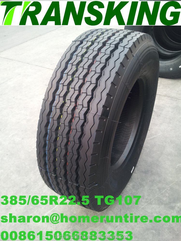 Buy Truck Tire 385/65r22.5 direct from Factory,TRANSKING Deep Tread Tire 1200R24,12R22.5,13R22.5 for Trucks, Rib,Lug Pattern