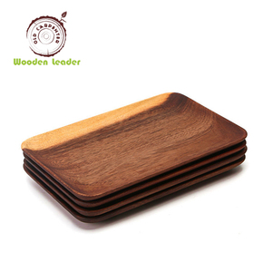 Pacific Merchants Acaciaware Acacia Wood Rectangle Serving Tray