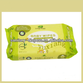 Baby Care Back Sealing Wet Tissue